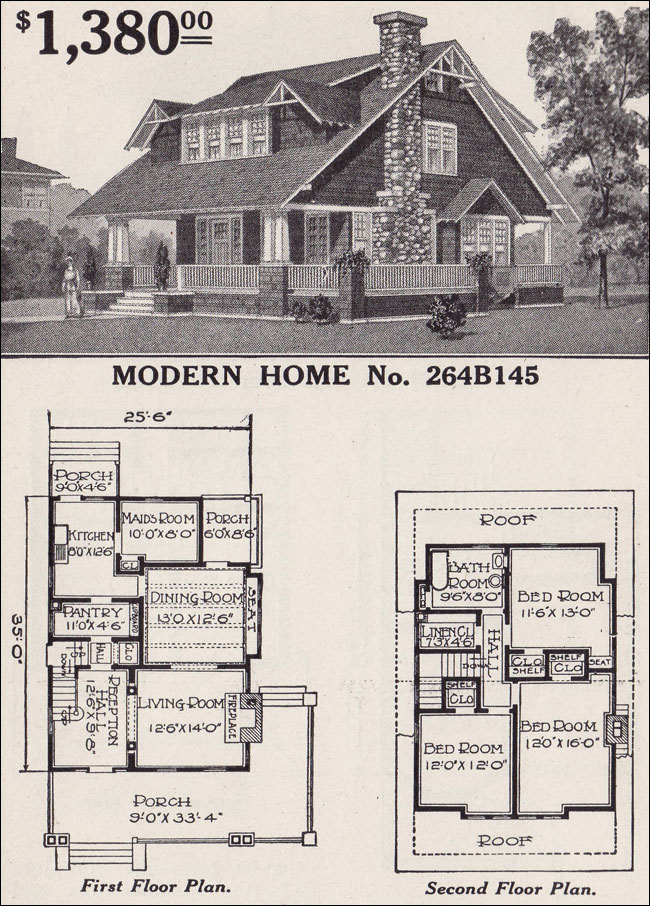 craftsman style house sears kit home