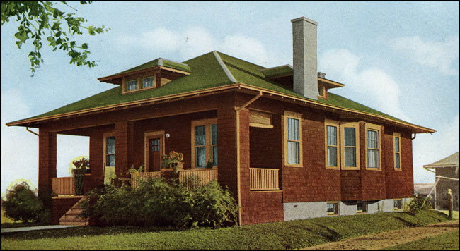 Pdf diy cabin plans hip roof download cabinet plans for Bungalow roof styles