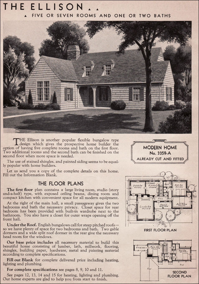 1936 Sears Kit House - Ellison