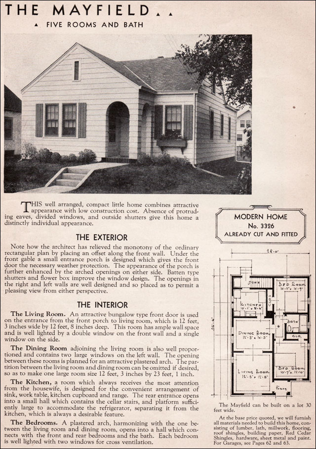 92 craftsman bungalow house plans 1930s sears roebuck for 1930s house plans