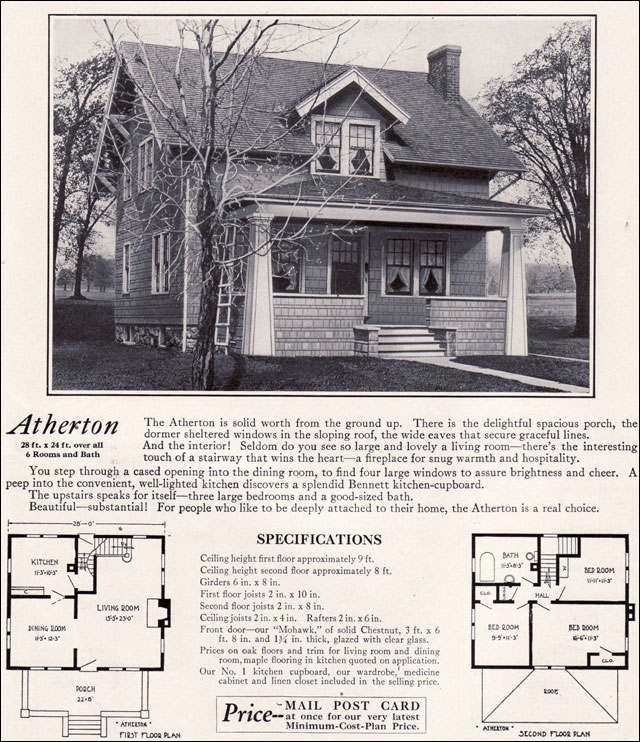 1920s home plans house design plans for 1920s house plans