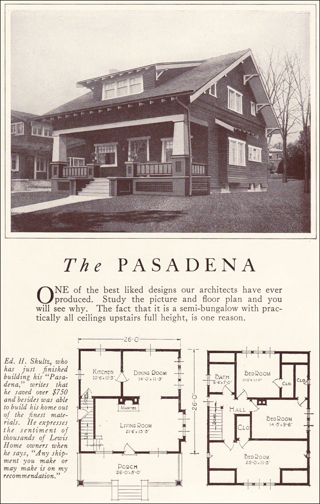 Classic bungalow house plans classic bungalow 1922 for Classic cottage house plans