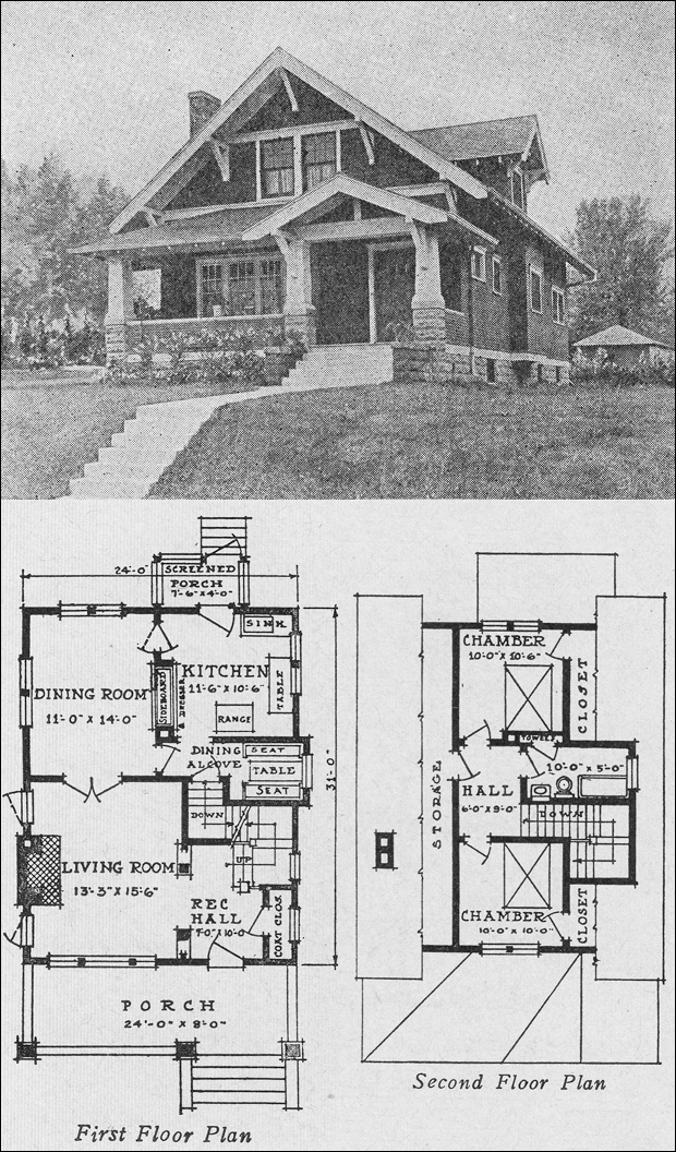 1920s bungalow quotes for 1920 floor plans