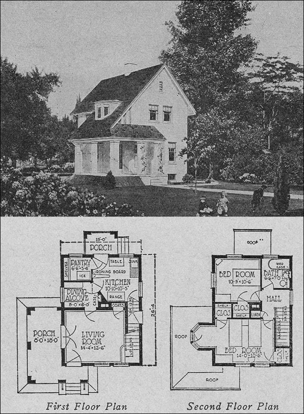 1923 books of 1000 homes olsen urbain no 357 images frompo - House design book ...