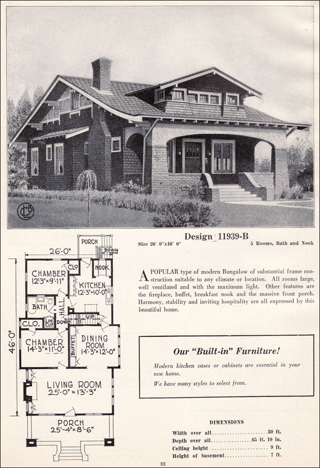 1920 Craftsman Bungalow Style House Plans Memes