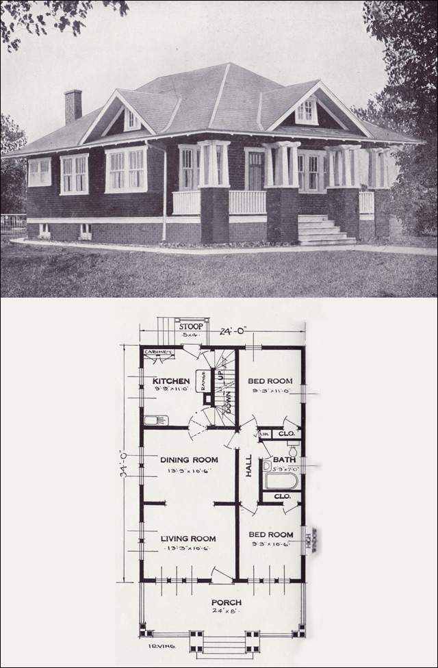 1923 Craftsman Style Bungalow The Irving By Standard