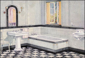 1924 Crane Bathroom