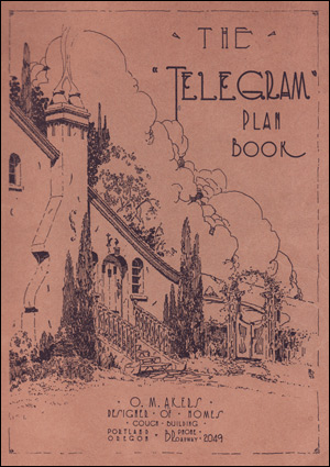 1924 Telegram Plan Book - Cover