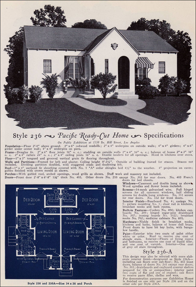 1925 Eclectic California Cottage Duplex Pacific Ready
