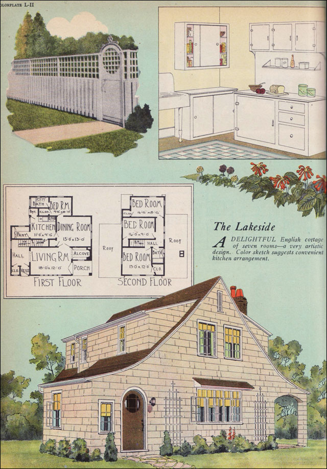 1925 Artistic English Cottage American Builder Magazine