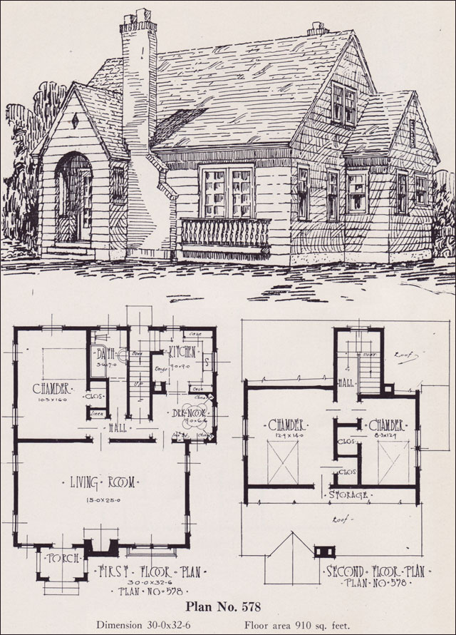 Old Cabin House Plans Storybook Cottage House Planshobbit