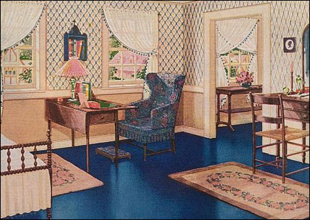 Home Decorating on Bedrooms During The 1920s Were All About Color And Pattern  Colors