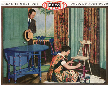 1927 Duco Paint Ad