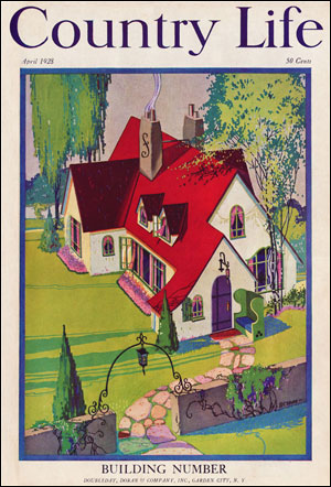 Country Life Magazine - April 1928 Cover