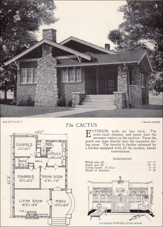 1928 Craftsman Style Bungalow The Cactus Home Builders