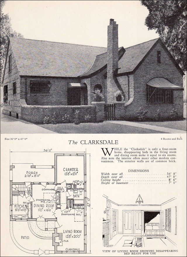 1928 Home Builders Catalog - The Clarksdale