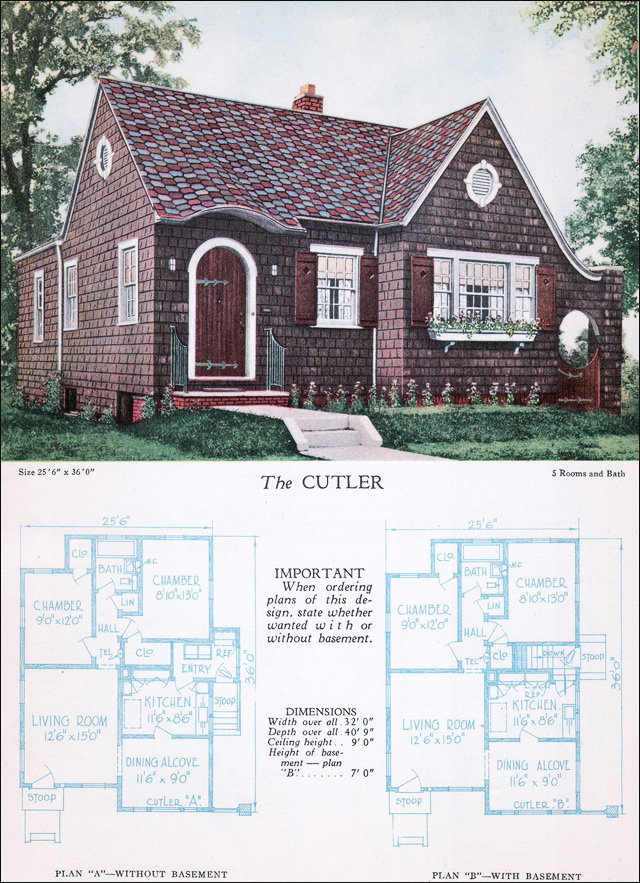 1928 Home Builders Catalog - Cutler