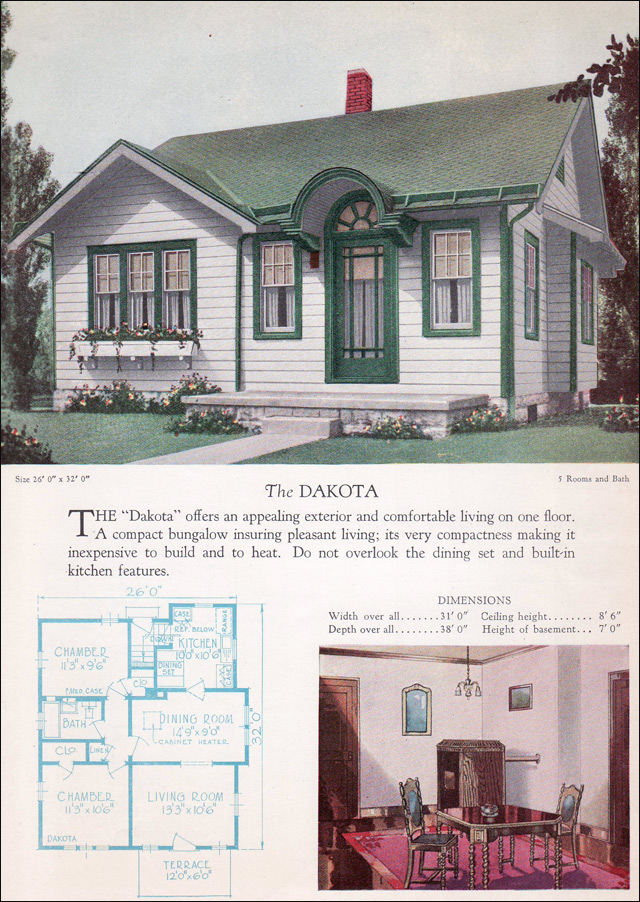 1928 Home Builders Catalog - Dakota