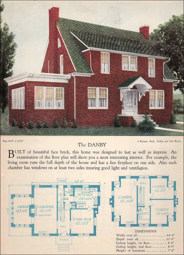 1928 Home Builders Catalog - Danby