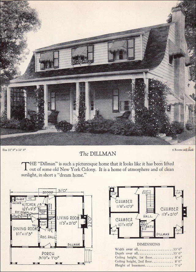 1928 Home Builders Catalog - Dillman
