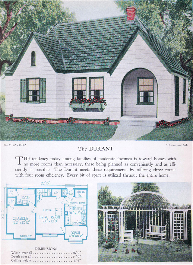 1928 Home Builders Catalog - The Durant