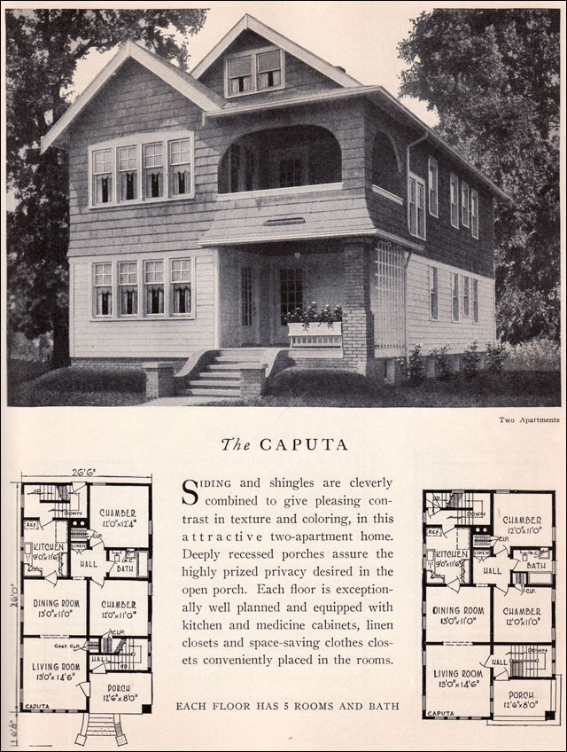 The 1929 Caputa Vernacular Classic Duplex Apartment