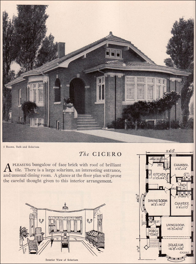 Home Builders Catalog 1929 Cicero American Residential