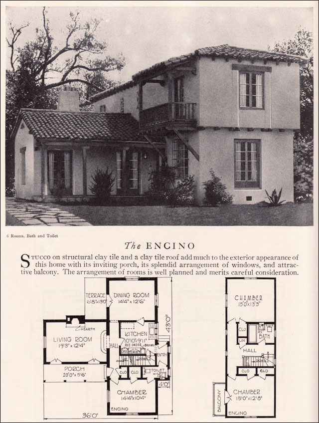Spanish Style House Plans at Dream Home Source | Spanish Revival