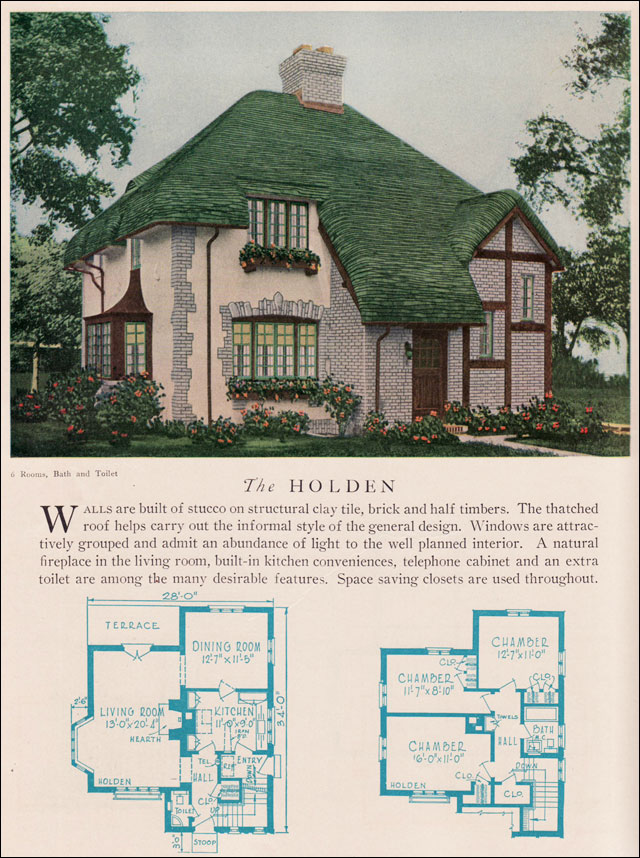 Holden House Plan American Residential Architecture