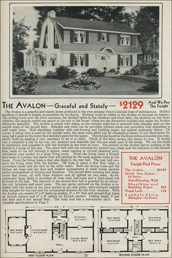 Dutch colonial revival floor plans for Antique colonial house plans