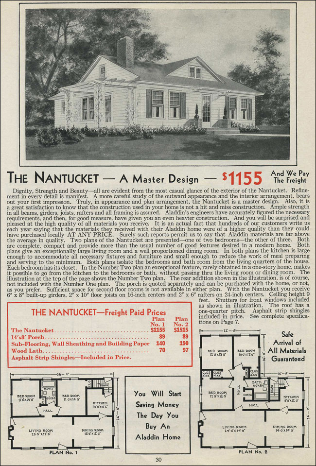 1931 Aladdin - Nantucket