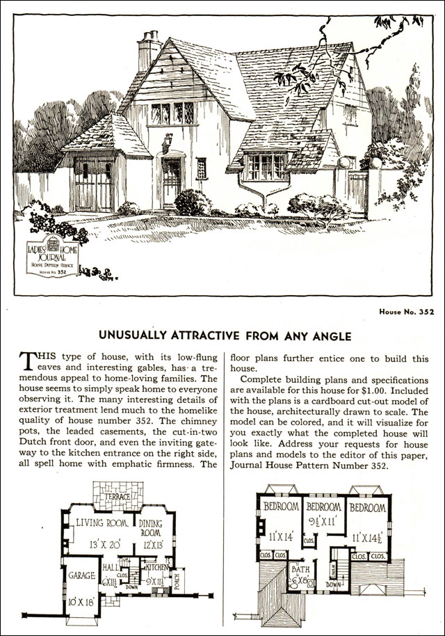 english cottage style house plans on 1935 cottage style house plans