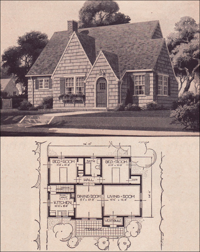 Family Home Plans Craftsman moreover Japanese Mid Century Home Style additionally 1940s Home Design Patio also Stock Photo Cottage House Flowers Street Patio Garden Window Potted Plants Image35201780 as well Tudor Style Cottage Plans. on vintage cottage house plans
