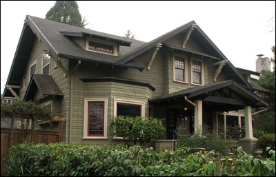 What is craftsman style bungalow arts crafts for Craftsman style architecture