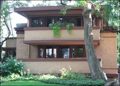 1909 - Frank Lloyd Wright for Mrs. Thomas Gale