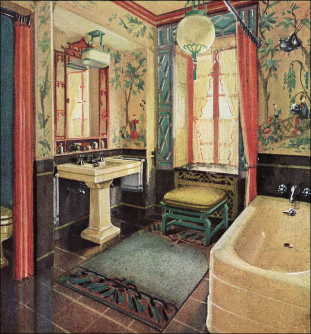 1929 Crane Bathroom Plumbing Fixtures Vintage Chinese  : page30 from antiquehomestyle.com size 640 x 686 jpeg 149kB