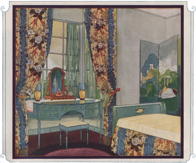 1924 bedroom with standish fabric 1920s kitchen inspiration for 1920s bedroom ideas