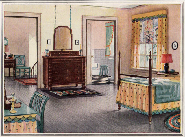 1925 Armstrong Traditional Bedroom 1920s Traditional