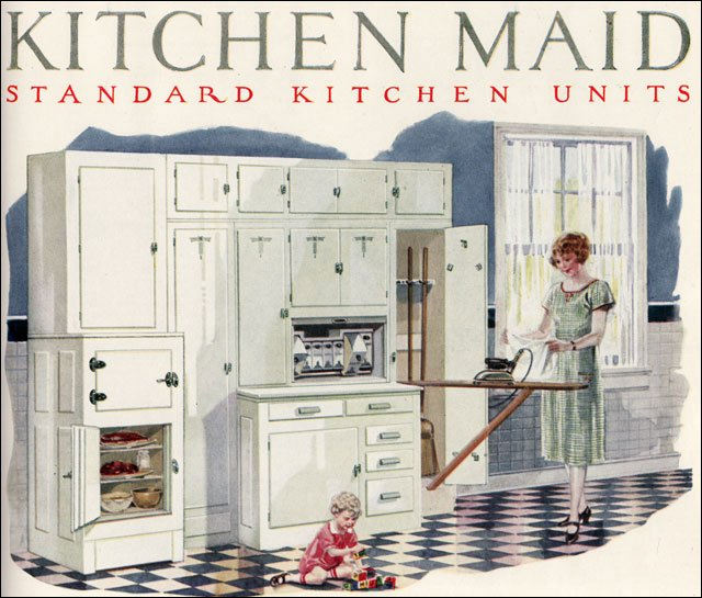 1920s kitchen kitchens and 1920s on pinterest for 1920 kitchen cabinets
